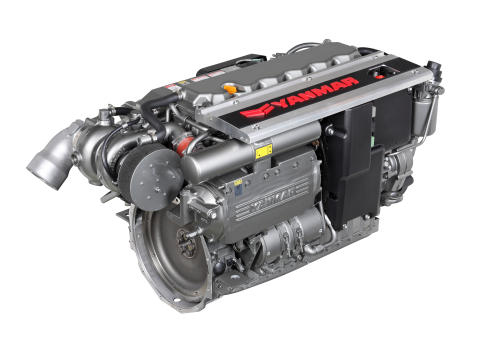 Hi-res image - YANMAR - the YANMAR 6LY440 is part of the fourth generation of the YANMAR 6LY series