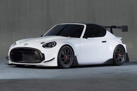 Toyotas tävlingssektion Gazoo Racing har nu utvecklat konceptbilen S-FR