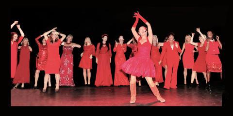 Hjälp oss rädda kvinnohjärtan!  Woman in Red till Visby
