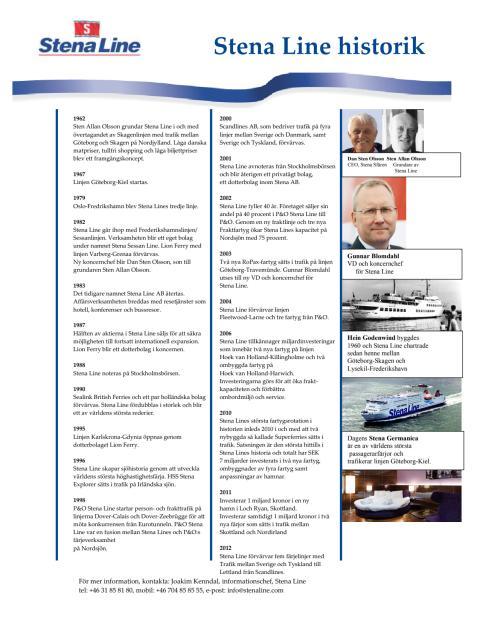 Stena Line - de första 50 åren