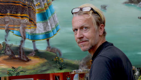 Ernst Billgren vs Wilhelm von Kröckert,  Borås Konstmuseum,  17 september 2016 - 15 januari 2017