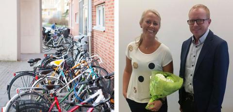 Högskolan Väst utsedd till en av de mest cykelvänligaste arbetsplatserna