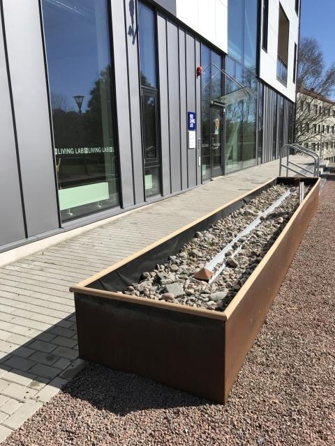 Stort test av dagvattenanläggningar på HSB Living Lab