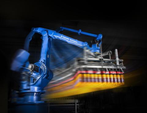 Hantering av flaskor – pålitligt, snabbt och flexibelt med MOTOMAN-robot och AirGrip®