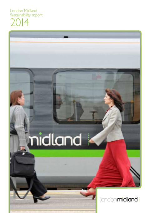 London Midland Sustainability Report 2014