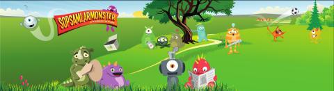 Sopsamlarmonster - tillsammans för miljön