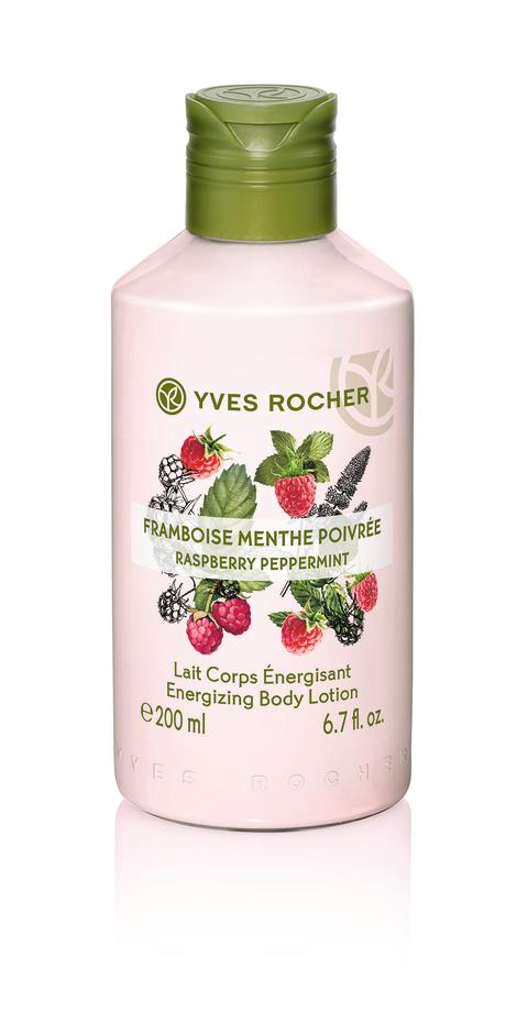 Raspberry Peppermint Energizing Body Lotion