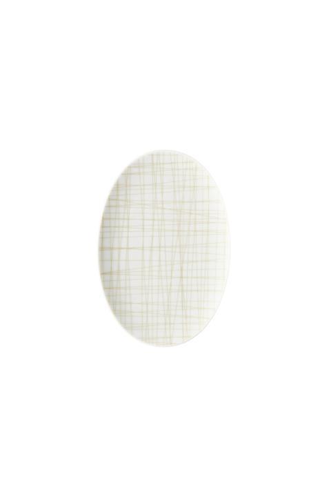 R_Mesh_Line Cream_Platter 18 cm