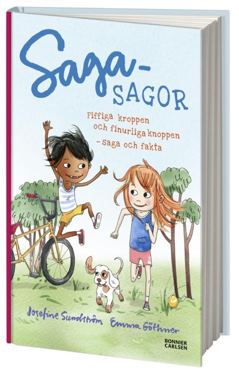 """GEN-PEP och Bonnier Carlsen ger ut """"Sagasagor: Fiffiga kroppen och finurliga kroppen"""""""