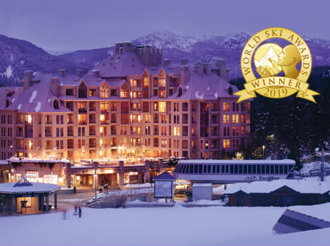 Pan Pacific Whistler Mountainside named Canada's Best Ski Hotel for 7th consecutive year