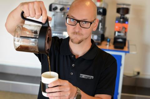 3Temps kaffemaskiner fortsätter imponera