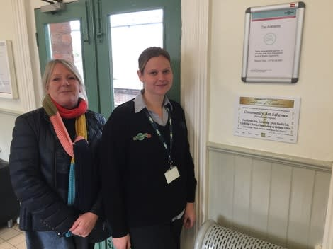 Edenbridge station celebrates award success