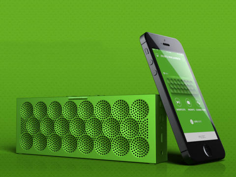 Ny Mini JAMBOX med MAKSIMUM lyd
