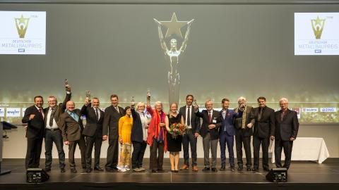 Deutscher Metallbaupreis 2016 und Feinwerkmechanikpreis 2016 verliehen