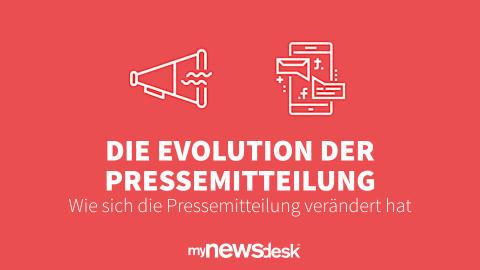 Die Evolution der Pressemitteilung