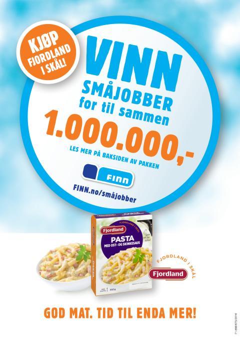 Finn og Fjordland gir mulighet til å vinne småjobber for en million