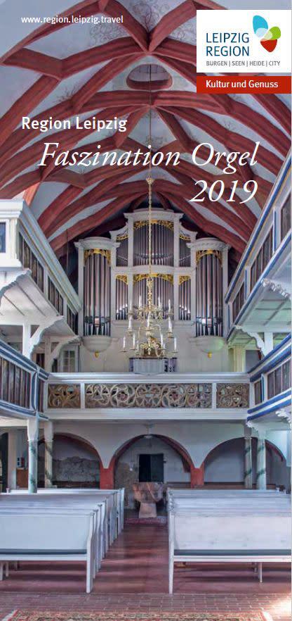 """Titelbild zur Broschüre """"Faszination Orgel 2019"""""""