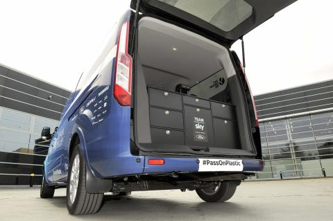 Ford Tourneo Custom følgebil