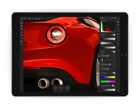 Affinity Photo for iPad develop persona