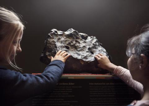 Meteorit med publik