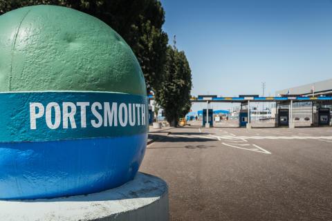 Digitalisering av Portsmouth International Port