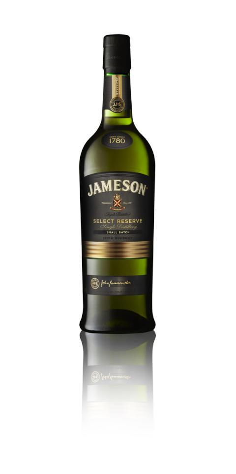 Nyheter vedrørende Jameson Whiskey sortiment.