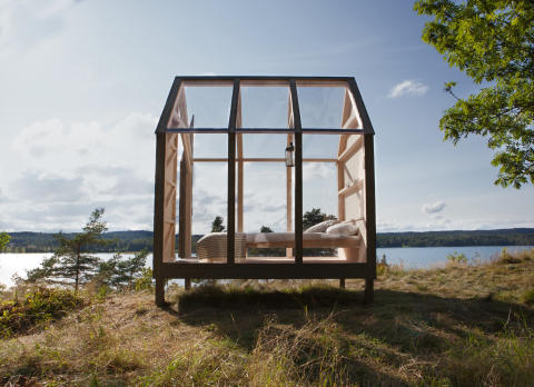 "Sverige introducerer ""The 72 Hour Cabin"", der inviterer verden til at koble af i naturen som svenskerne"