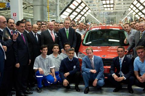 Ford Otosan avasi uuden kokoonpanotehtaan