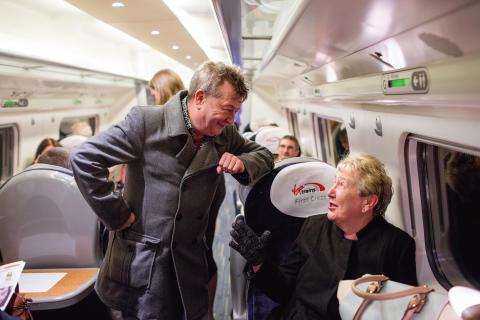 Virgin Trains Ticket to Write