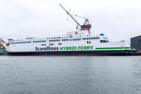 "Nye Scandlines færger - ""Berlin"""
