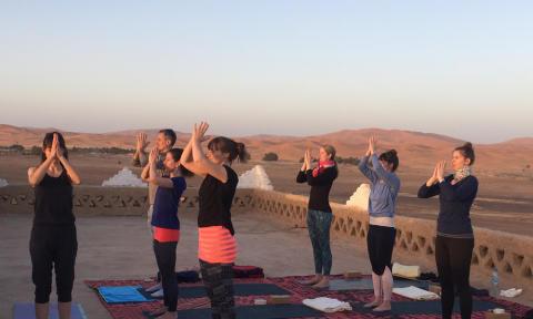 Yogareise Marokko_Source NOSADE