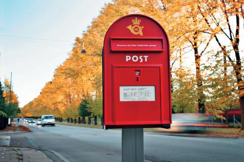 Vi har nu en PostBox i Danmark.