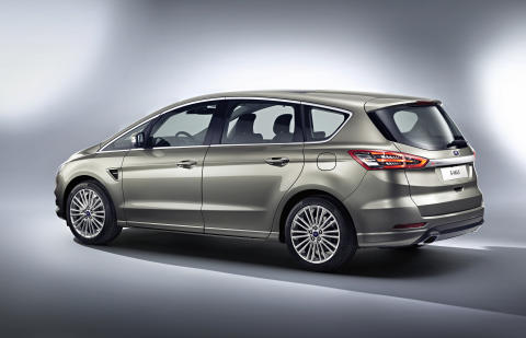 Uusi Ford S-MAX