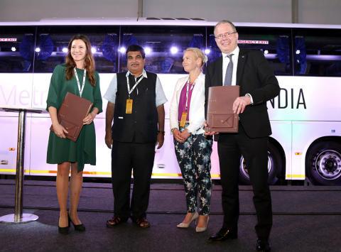 Swedfund och Scania satsar på indisk biogas