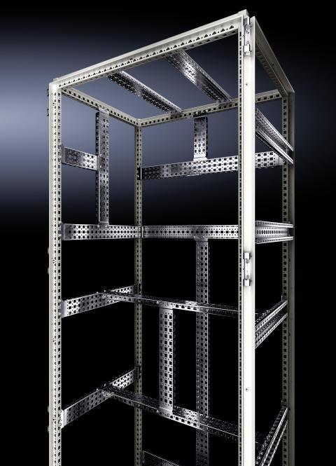 Det nya VX25 golvskåp med ett konsekvent 25 mm hålmönster och fullständig symmetri.