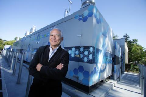 El från bränsleceller driver Toyotas amerikanska huvudkontor