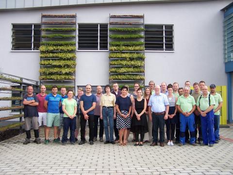 Die Mitarbeiter der EuroLam GmbH