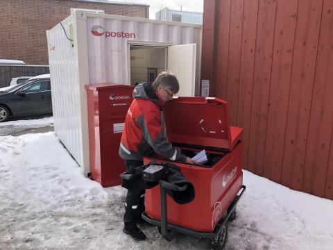 Borettslag med egen postautomat