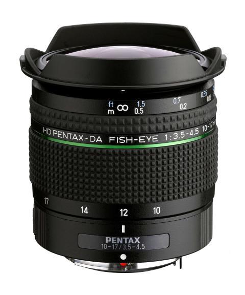 Pentax DA 10-17 Fish eyeF3.5-4.5