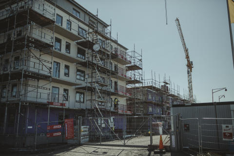 Omfattande nedgång i Stockholms läns husbyggande
