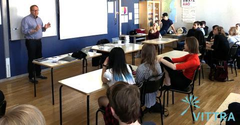 Framtidens entreprenörer skolas i Vittra Sjöstaden