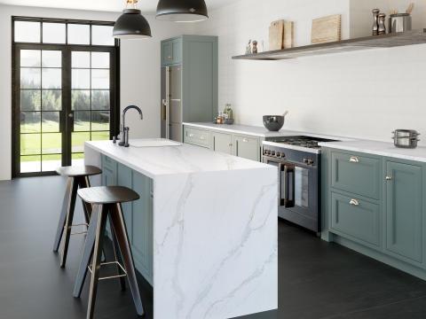 RS11271_Silestone Kitchen - Eternal Calacatta Gold
