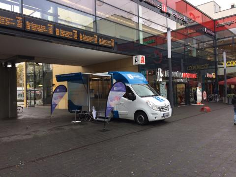 Beratungsmobil der Unabhängigen Patientenberatung kommt am 26. Februar nach Hattingen.