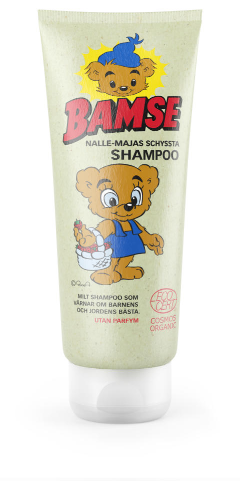 Nalle Majas schyssta shampoo