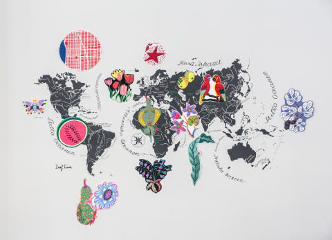 Josef Franks mönstervärld