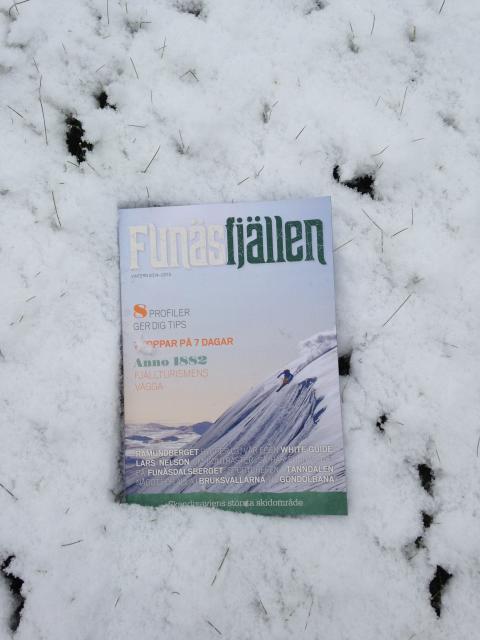 Snön kom med Funäsfjällens vintermagasin