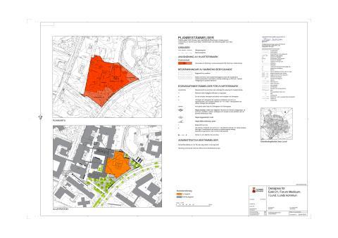Detaljplanekarta för Eskil 21 - Forum Medicum