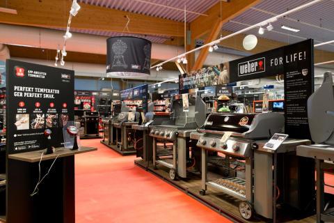 Fredells Byggvaruhus är en World Weber Store