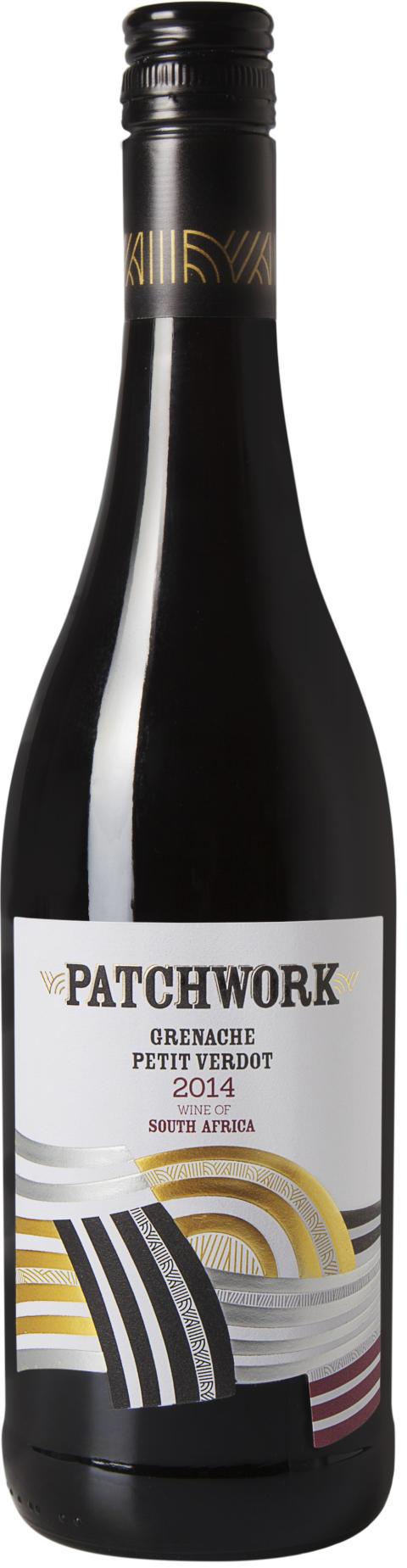 Patchwork Grenache Petit Verdot, flaskbild