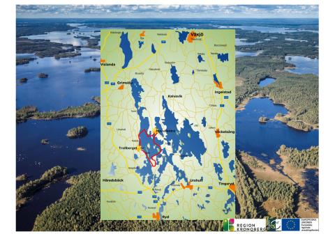 Kort over Åsnen området